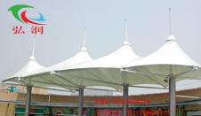 商业广场休闲膜结构