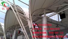 舟山钢膜结构收费站