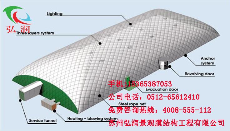充气膜建筑设计