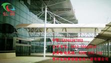 车站膜<font color=red>结构</font>车棚雨棚