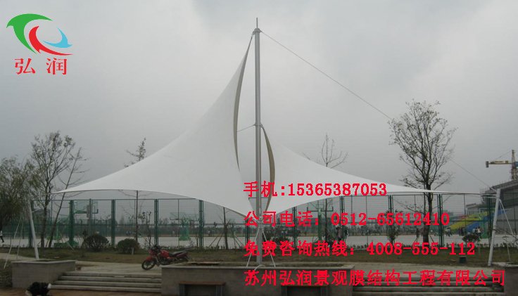 青岛景观膜结构