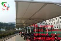 义乌学院膜结构车棚